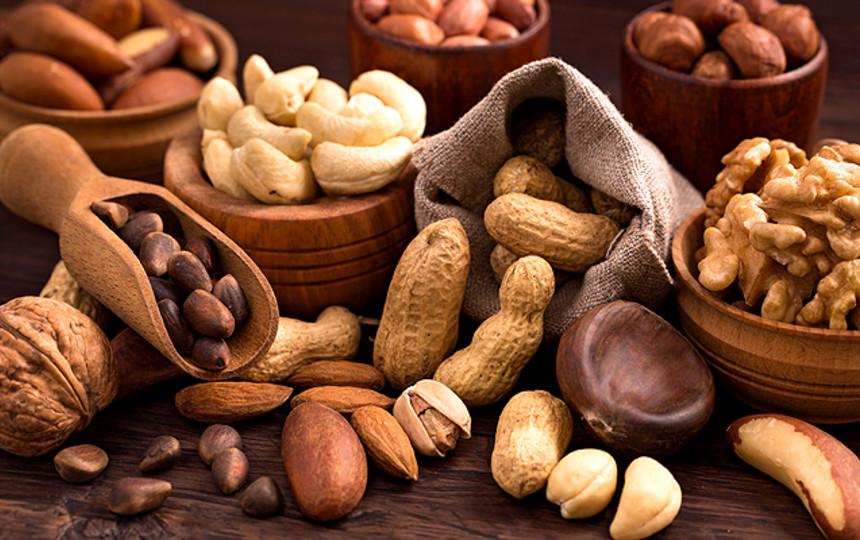 Какие орехи лучше употреблять перед едой