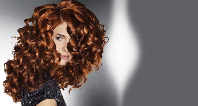 какой цвет идет на кудрявые волосы