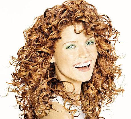 Прически с кудрявыми волосами
