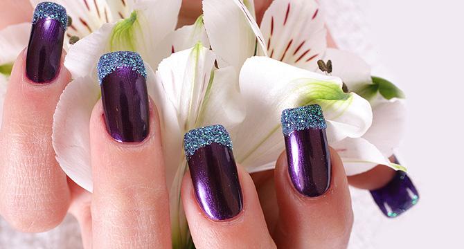 Необычные гелевые ногти