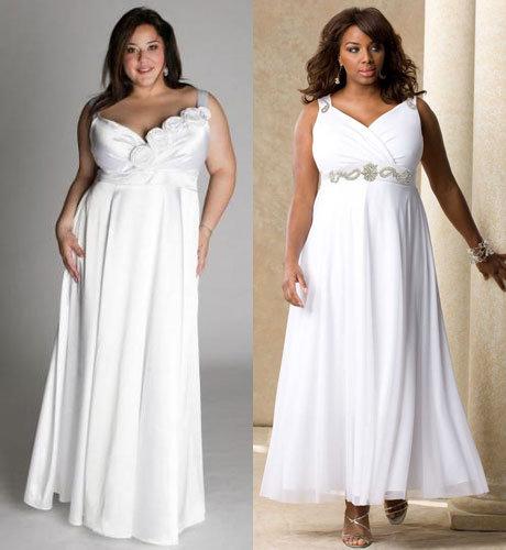 Греческие платья на полных