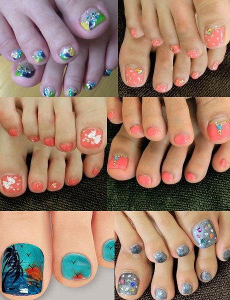 Дизайн ногтей на ногах: педикюр своими руками 23