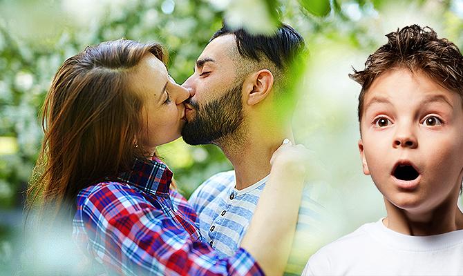 Потцелуй с мужом при сексе картина