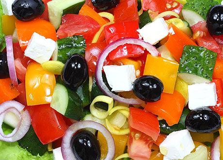 как правильно делать греческий салат
