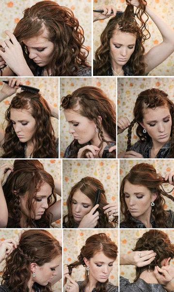 Причёски на выпускной для длинных волос своими руками фото