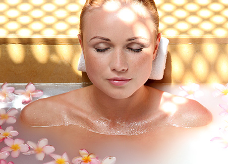 Оздоровительные ванны для похудения