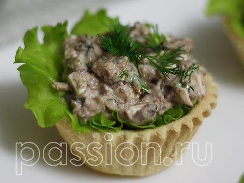 Салат тунец в тарталетках рецепты 49