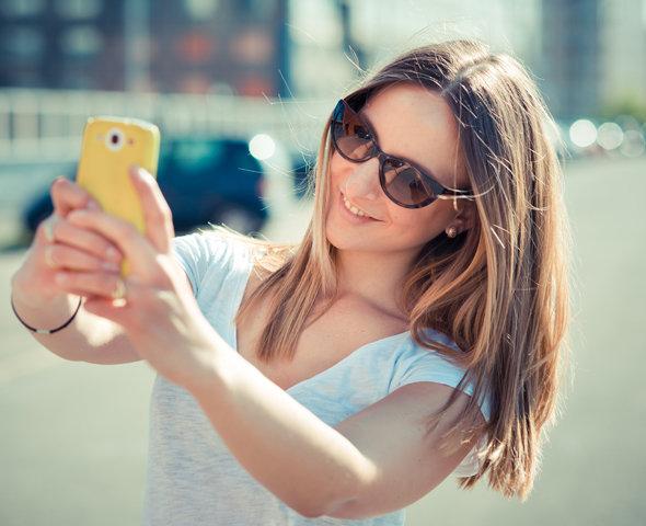 Как сделать удачное себя с телефона