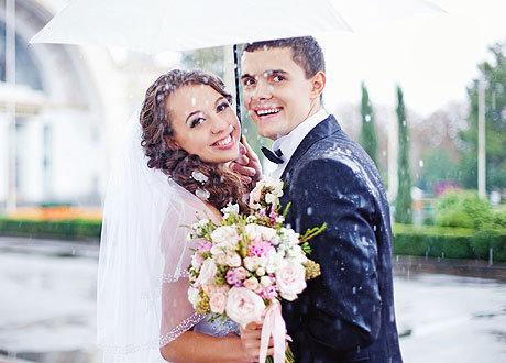 Примета если наступить невесте на платье