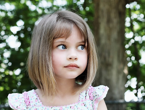 детские стрижки для девочек 3 года