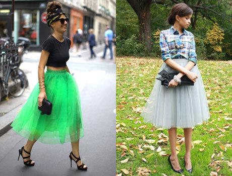 Звезды и пачки юбки
