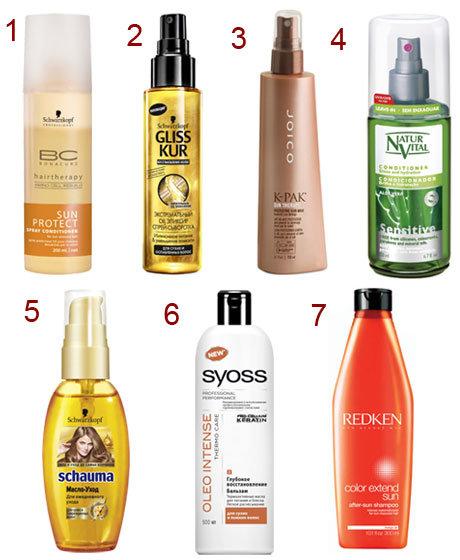 Спрей-защита от солнца для волос