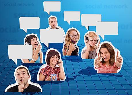 все социальные сети знакомства общение