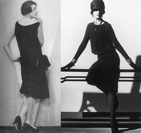 История черного платья шанель