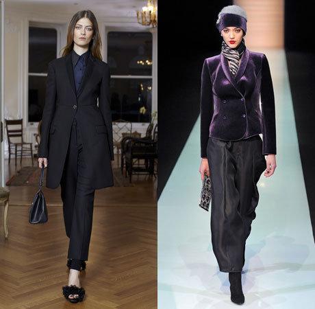 Модные женские костюмы осень 2014