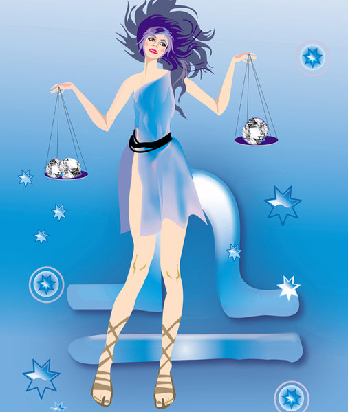 Гороскоп для весов женщин   осень весы