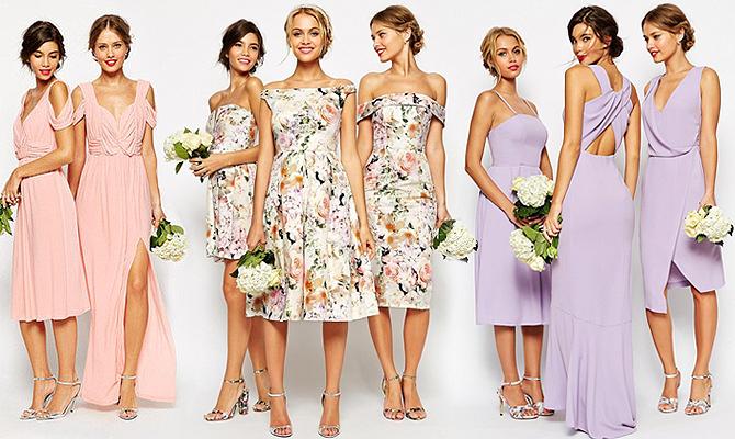 Платья на свадьбу гости летом