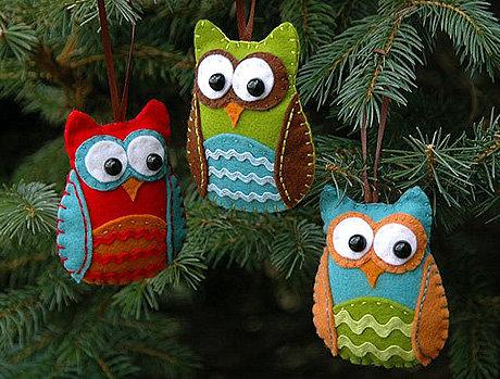 Новогодние игрушки своими руками сшитые