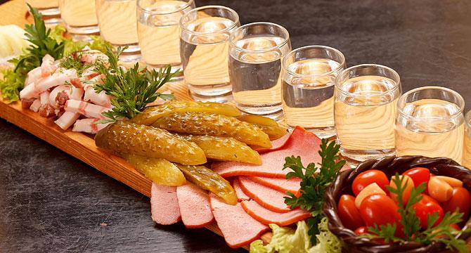 холодные закуски под водку рецепты
