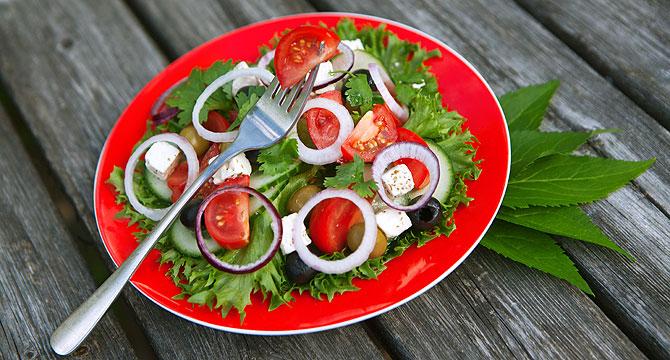 Рецепт салата по-гречески с фото