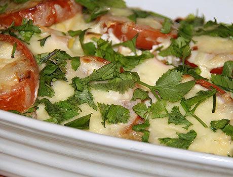 Запеченная треска с овощами рецепт пошагово в