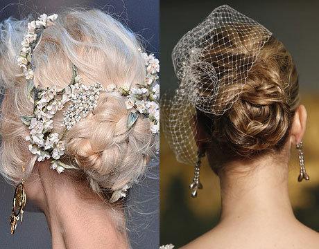 как сделать свадебную причёску