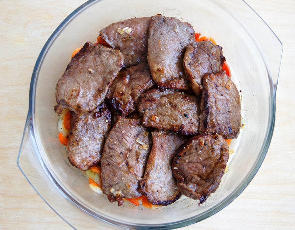 мягкая говядина в духовке в рукаве рецепт