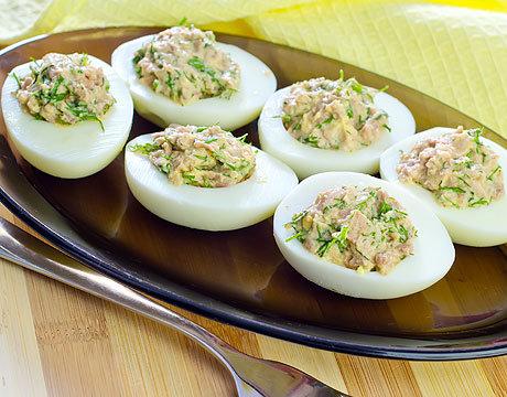 закуска из яиц рецепты варёных