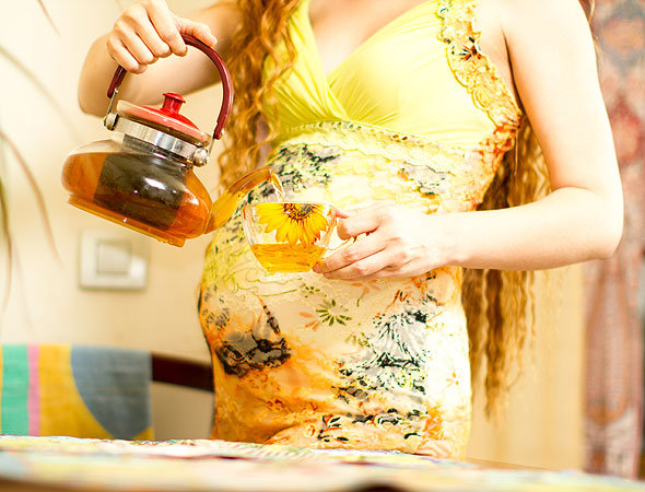 Чай и кофе при беременности