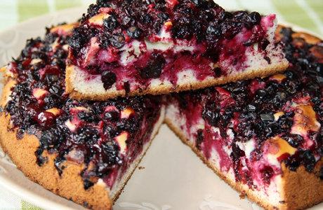 Пирог из черной смородины рецепт