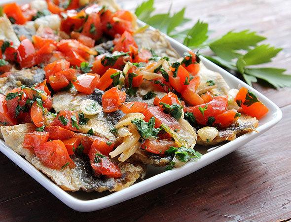 рецепты свежемороженой селедки в духовке