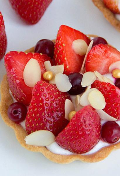 175Корзиночки с ягодами рецепт