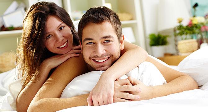 Секс в постели с офигенной девушкой онлайн