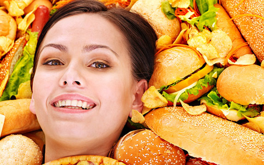 сбалансированное питание для того чтобы поправиться