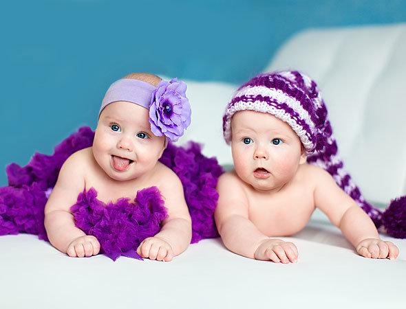 Фото двойняшки