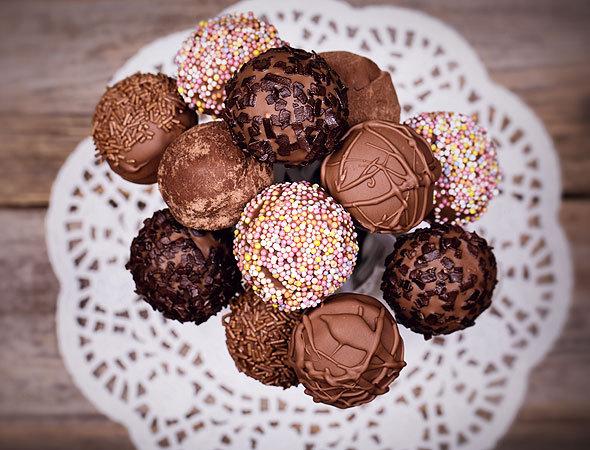 кейк попсы рецепт крем шоколадный