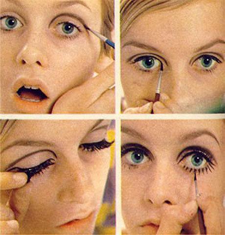 твигги макияж фото