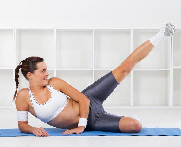 Как быстро похудеть и убрать бока и живот с ляшками