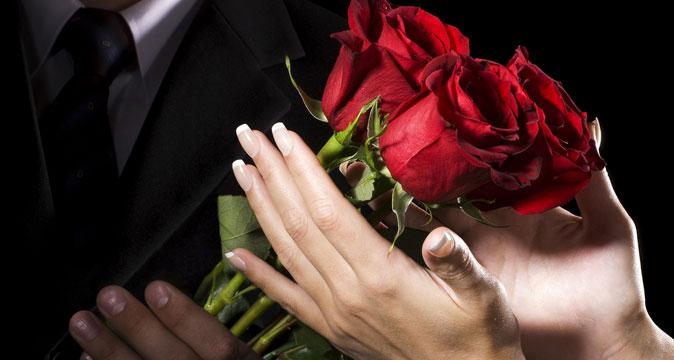 Фото цветы букет в руках