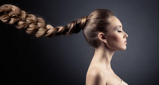 Укладка на длинные волосы своими руками