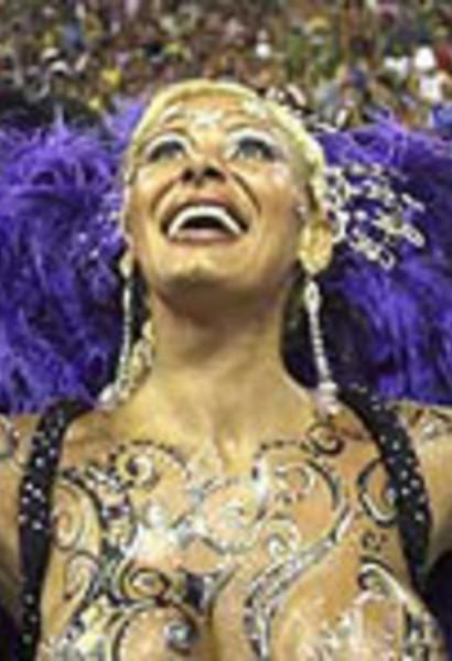 Тапасексо на карнавала в рио