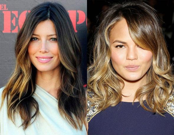 6 модных способов контурирования волос с помощью окрашивания рекомендации