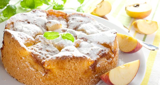 Рецепт шарлотки с яблоками и творогом с пошагово
