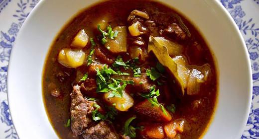 Ирландское рагу (irish stew) на американский манер Нью-Йорк не сразу строился