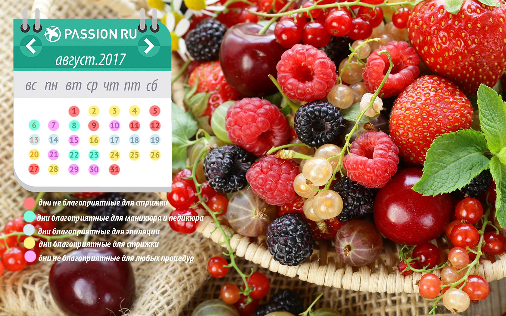 пассион ру обои на рабочий стол с календарем август 2017 № 16831 без смс