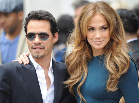 Марк Энтони (Marc Anthony) и Дженнифер Лопес (Jennifer Lopez) / splashnews.com