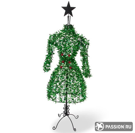 The Haute Couture Christmas Tree