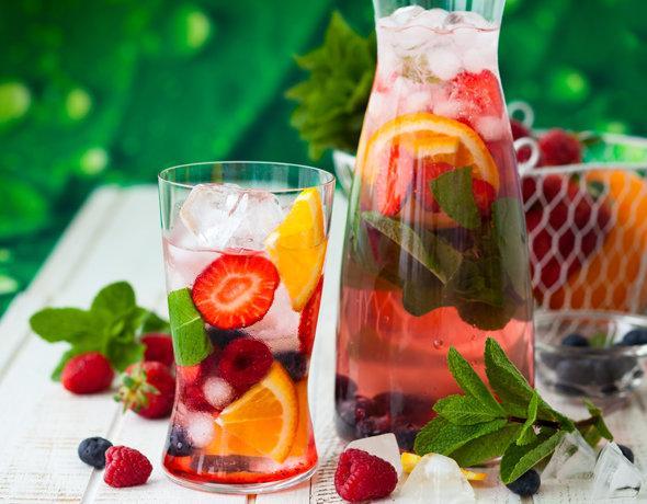 легкие короткие рецепты летних коктейлей