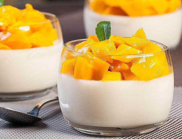 молочный десерт из молока с желатином рецепт