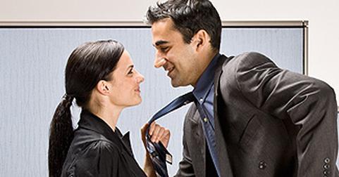 Роман на работе секс с начальницей